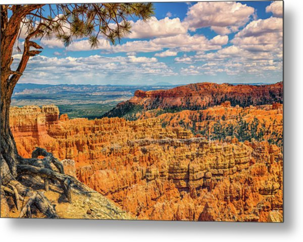 Bryce Canyon Overlook Metal Print