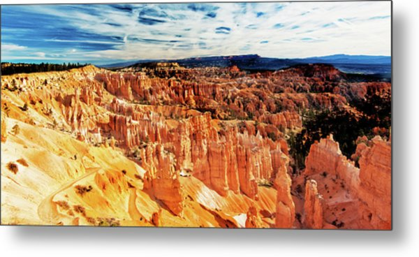 Metal Print featuring the photograph Bryce Canyon Overlook by Norman Hall