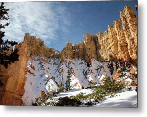 Metal Print featuring the photograph Bryce Towers by Jessica Tabora
