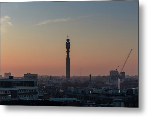 Metal Print featuring the photograph Bt Tower by Stewart Marsden