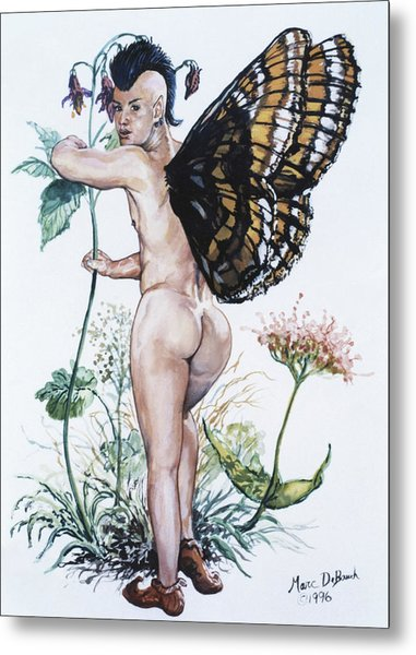 Bubble Butt Fairy Metal Print