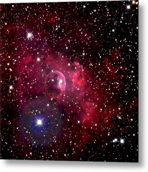 Bubble Nebula Metal Print