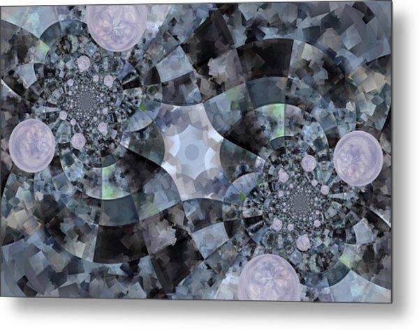 Bubble Road Metal Print