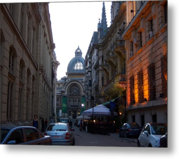 Bucharest 2 Metal Print