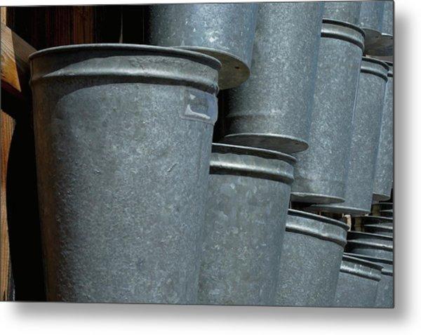 Bucket List Metal Print