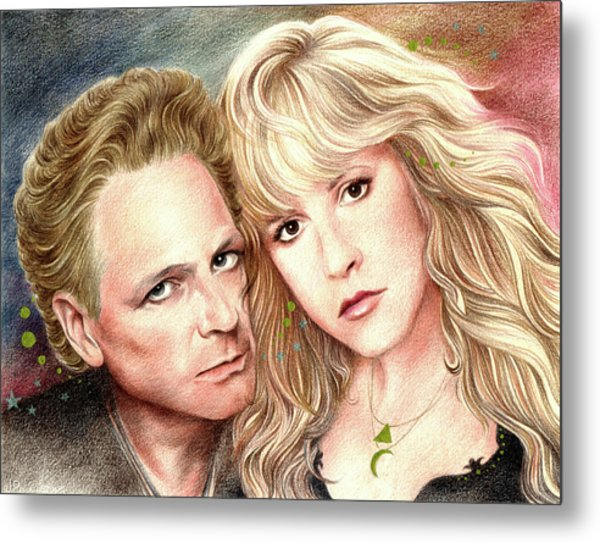 Buckingham Nicks Metal Print