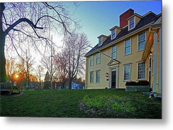 Buckman Tavern At Sunset Metal Print