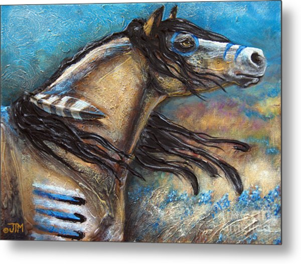 Buckskin Bell Blues Metal Print
