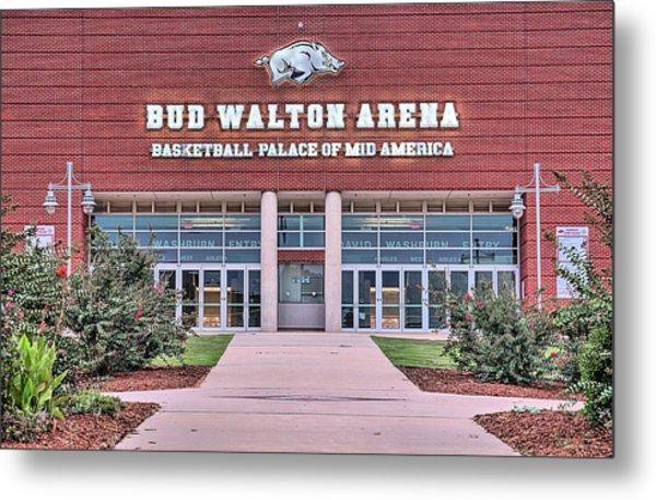 Bud Walton Arena Metal Print