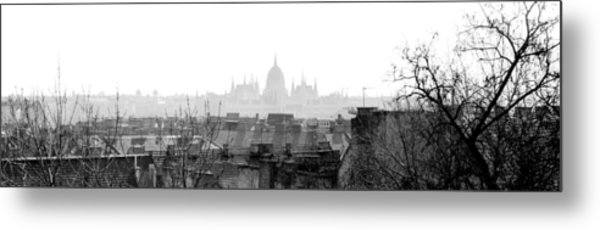 Budapest - A Different View Metal Print
