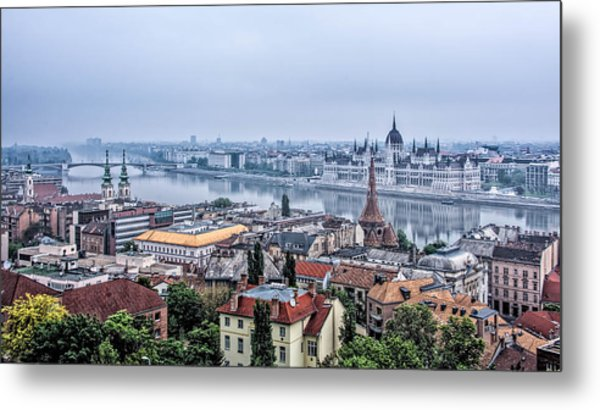 Budapest The Hidden Treasure Chest Metal Print