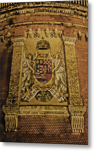 Budavari Palota Coat Of Arms Metal Print