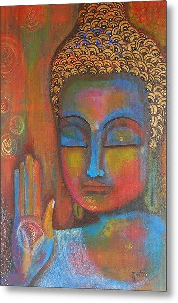Buddha Blessings Metal Print