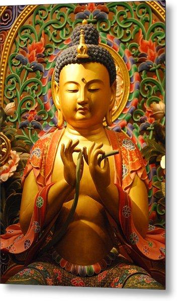 Buddha Metal Print by Susette Lacsina