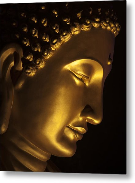 Buddha Taken At Fgs Dong Zen Buddhist Temple Metal Print