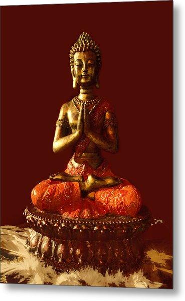 Buddhist Statue  Metal Print