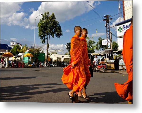 Buddhists Metal Print