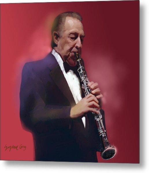 Buddy Defranco Clarinet Metal Print