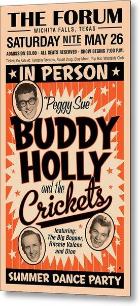 Buddy Holly Metal Print
