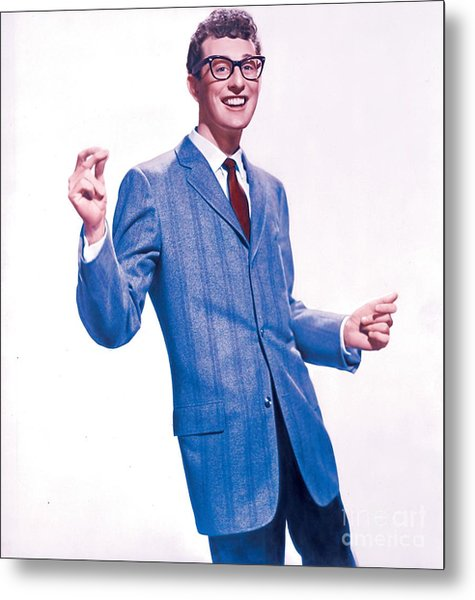 Buddy Holly Promotional Photo. Metal Print
