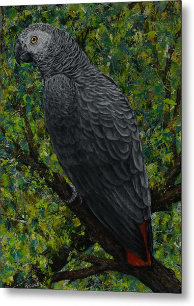 Buddy On A Branch Metal Print