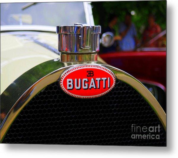 Bugatti Red Metal Print