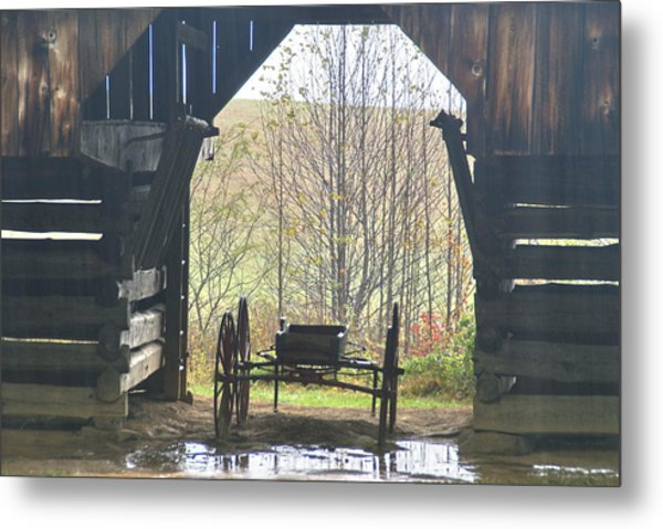 Buggy At Rest Metal Print