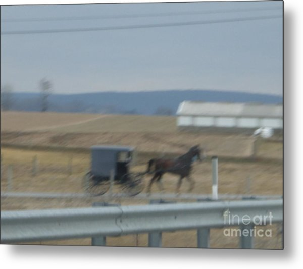Buggy Ride Three Metal Print