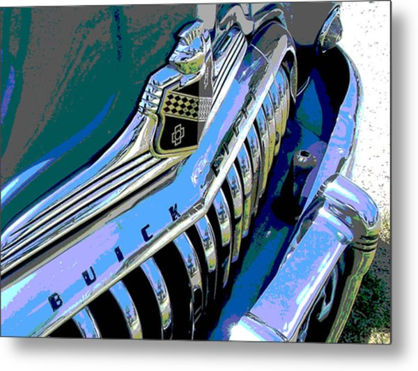 Buick Eight Metal Print by Audrey Venute