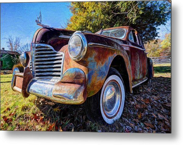 Buick Eight Metal Print