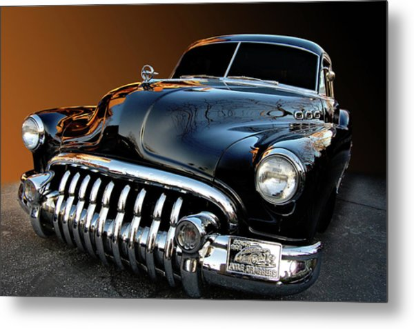 Buick Eight Sled Metal Print by Bill Dutting