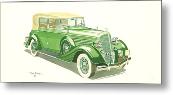 Buick Series 60 1935 Metal Print by John Kinsley