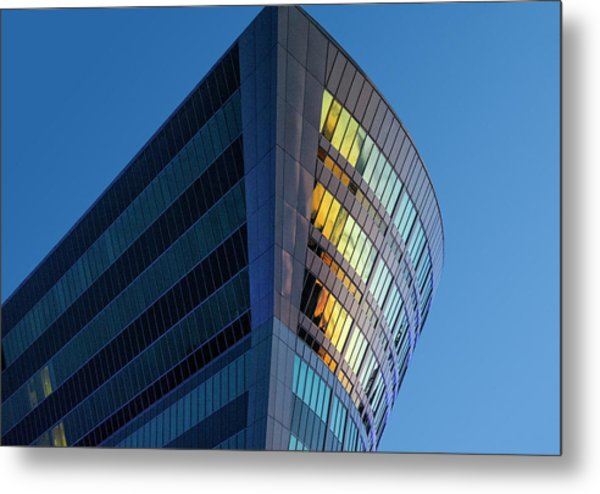 Building Floating In The Sky Metal Print