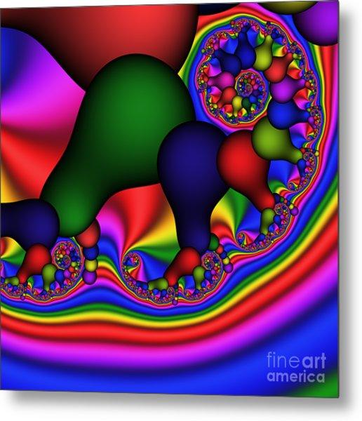 Bulb Spiral 197 Metal Print by Rolf Bertram