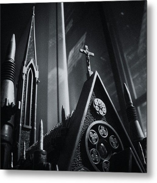 Bullet Church Metal Print