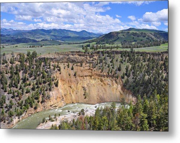 Bumpus Butte Yellowstone Metal Print
