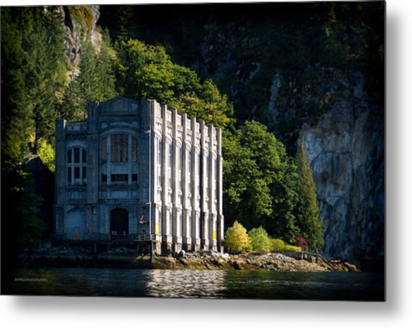 Buntzen Lake Power Station  Metal Print