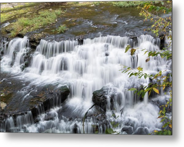 Burgess Falls Middle Metal Print