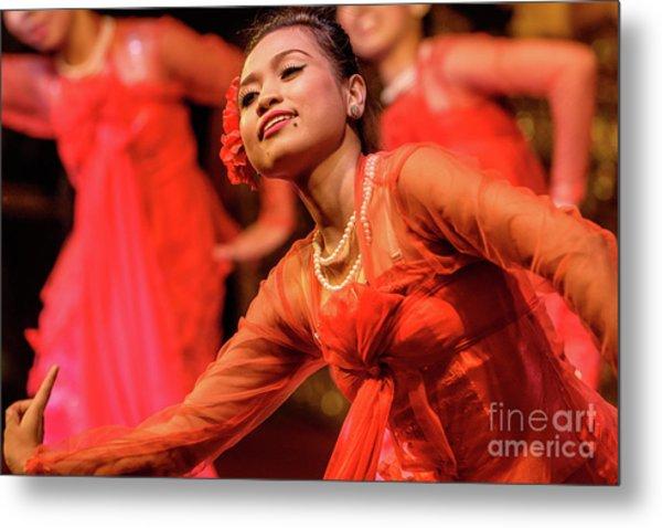 Burmese Dance 1 Metal Print
