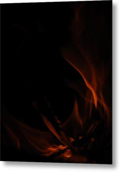 Burning Desire Metal Print by Kimberly Camacho
