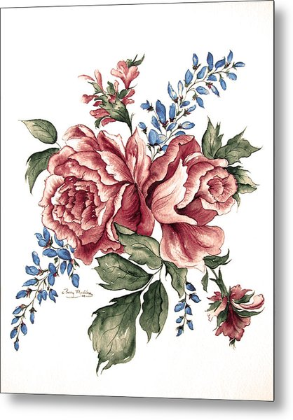 Bursting Blooms Metal Print by Patty Muchka
