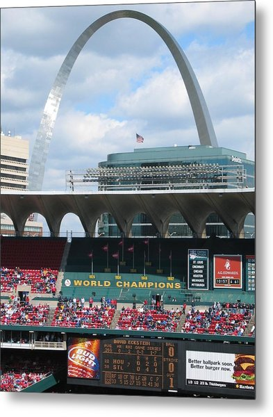 Metal Print featuring the photograph Busch by Dylan Punke
