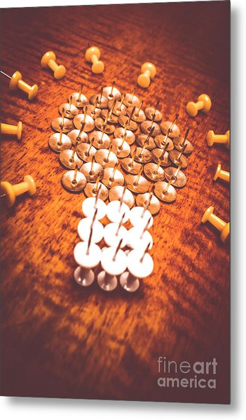 Busiiness Still Life Ideas Metal Print