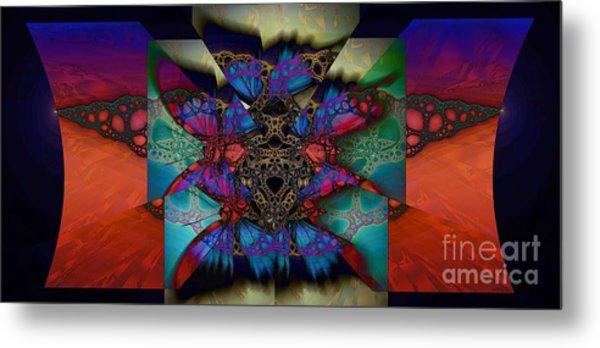 Butterfly Effect 2  Metal Print