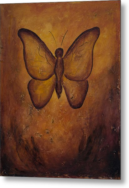 Butterfly Freedom Metal Print