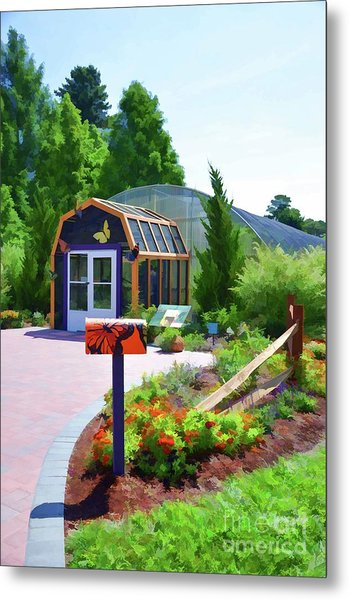 Butterfly House 1 Metal Print