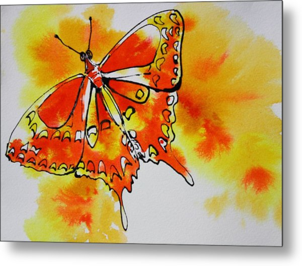 Butterfly IIi Metal Print