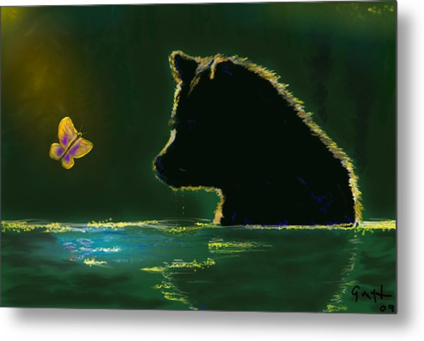 Butterfly Lullaby Metal Print