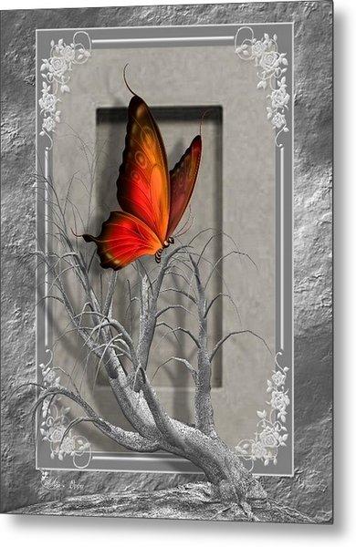 Butterfly Pop Metal Print