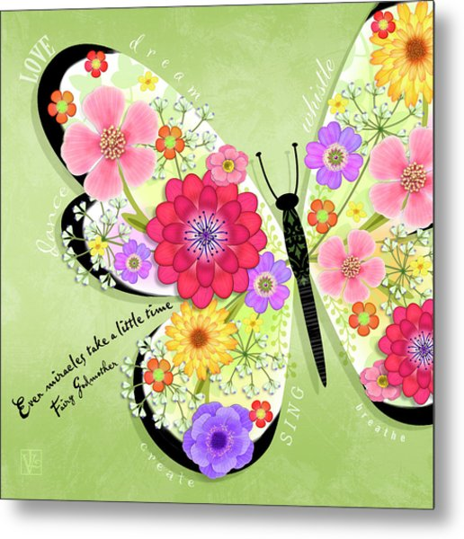 Butterfly Promise Metal Print
